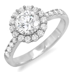 1.51 Cushion Engagement Ring